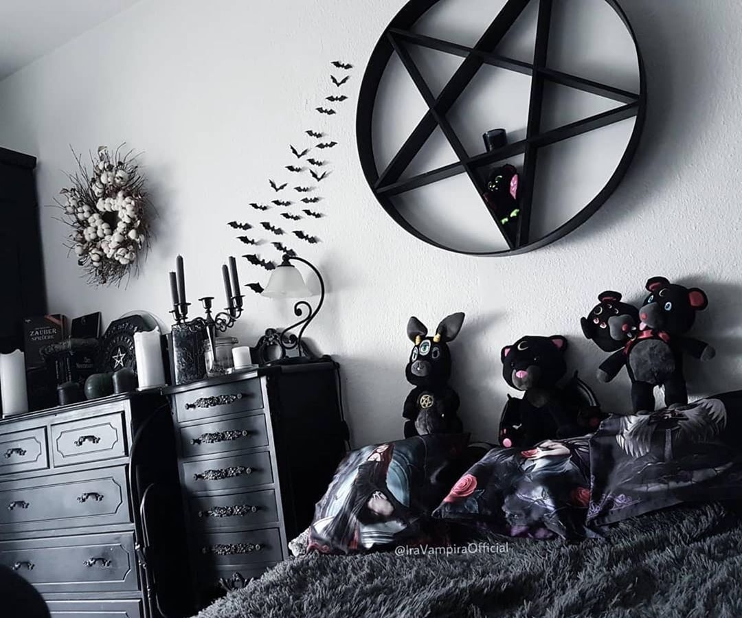 goth room ideas