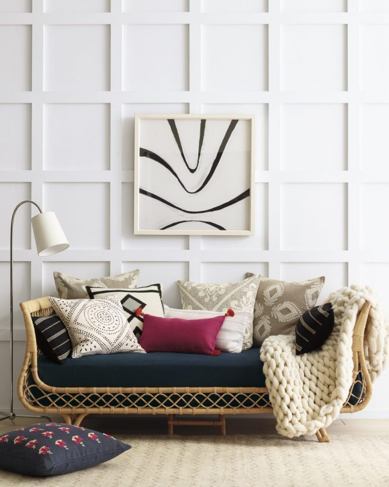 Rattan Bed High And Low Furniture