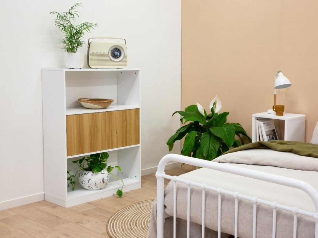 Small Bookcase Natural Wood