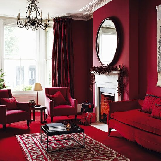 color palette for your home jewel tones red room decor