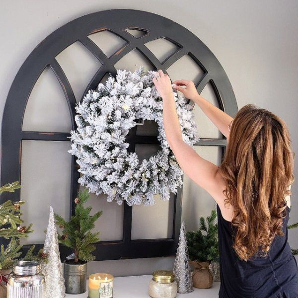 magnolia home cathedral window frame wall decor pier 1