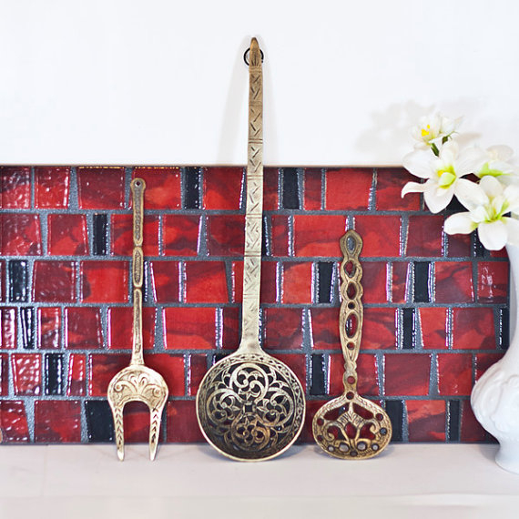 spoon fork wall decor wall decoration pictures wall