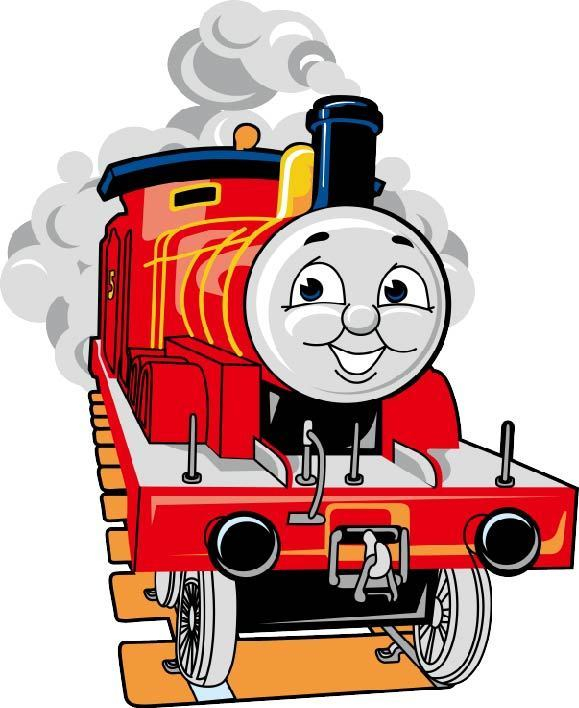 thomas and friends red train animated colored cartoon