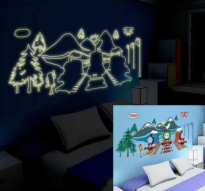 thomas the tank engine wall stickers decals wall stickers