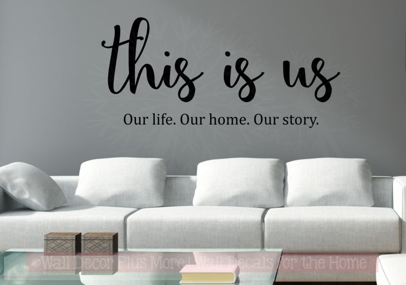family quotes wall decor this is us our home kitchen art