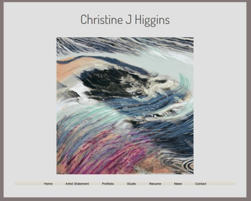 Christine Higgins website