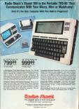 Tandy TRS-80 Model 100 Advertisement