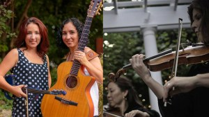 "Wednesdays in the Woods: The Amador Sisters, Cincinnati Chamber Orchestra String Quartet presents ""Star-Spangled Stories"" @ Burnet Woods Park: Burnet Woods Bandstand 