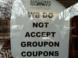 Groupon Niagara Falls sign