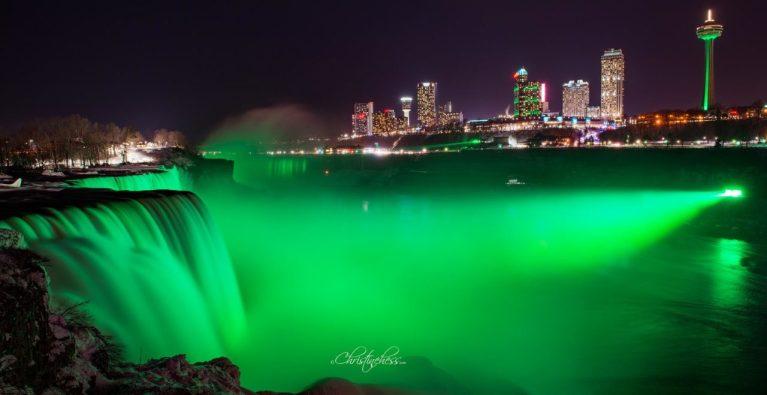 Earth day in Niagara Falls