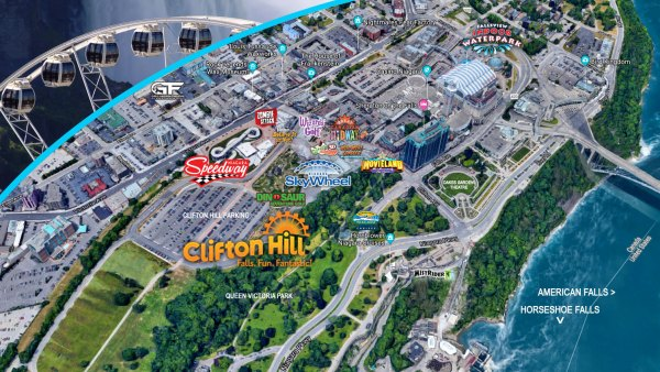 20+ Niagara Falls Attractions Map Pictures and Ideas on Weric on