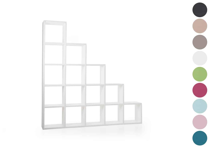 clikube bibliotheque 15 cases escalier
