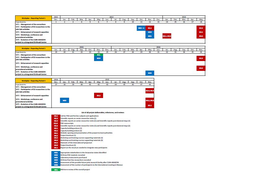 Workplan / Structure / Clim Amazon / IRD - Clim Amazon