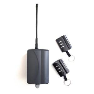 Kit receptor externo Pujol SRM1 + 2 mandos Vario Black