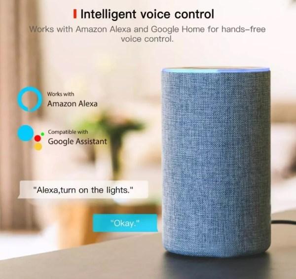 Enchufe inteligente 16A Wifi Amazon Alexa, Google Home