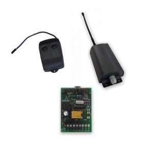 Kit mando emisor-receptor garaje largo alcance 300 metros