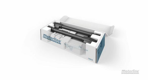 Kit Motorline Lince 300 doble hoja batiente
