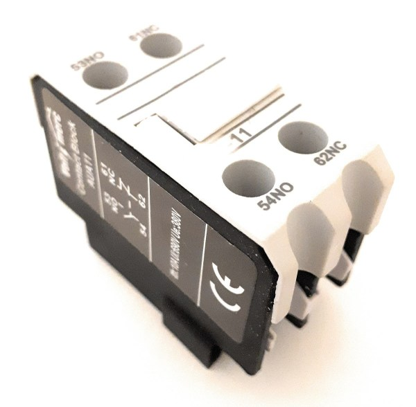 Bloque contactos auxiliares para contactor