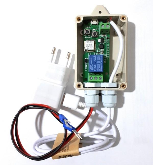 Receptor Wifi apertura garaje MVF-01