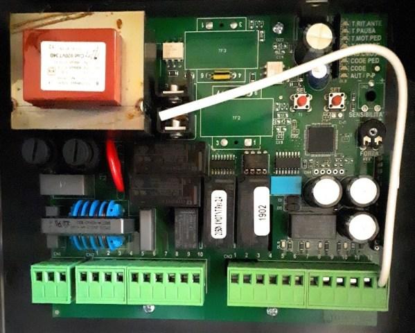 Kit VDS PM 600 motor electromecanico doble cancela batiente