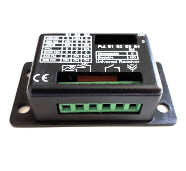 Receptor universal New Rx Unicom 433mhz y 868mhz