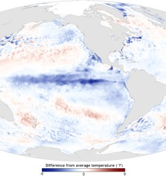 pacific ocean during a strong la ni a top december 1988 and el ni o bottom december 1997 maps by noaa climate gov based on data provided by noaa  [ 3010 x 1650 Pixel ]