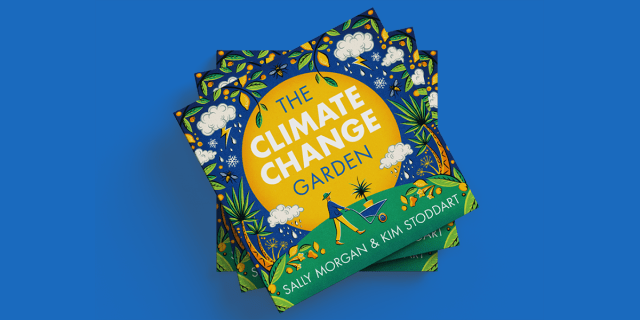 Climate change garden book cover