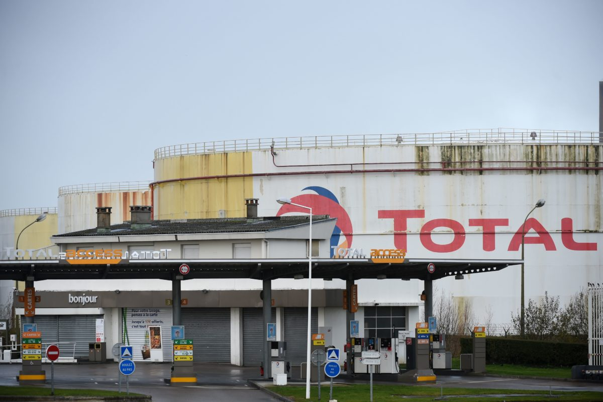 Total is being sued by environmental groups in France for contributing to climate change