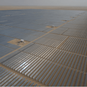 Sakaka Solar Plant and Dumat al-Jandal Wind Farm in Saudi Arabia