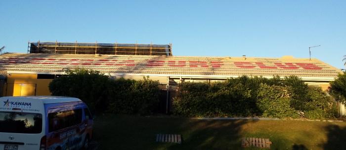 Kawana SLSC Solar Panel Installation