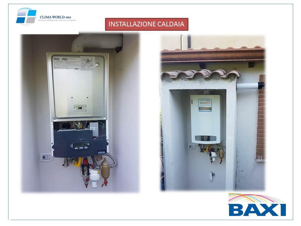Installazione caldaia a condensazione clima world one srl - Quale caldaia a condensazione ...