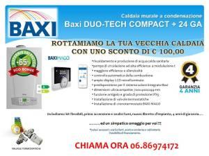 BAXI DUO-TECH COMPACT +24 GA _KIT DETRAZIONE FISCALE 65%
