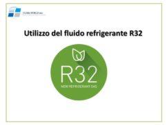 Utilizzo del fluido refrigerante R32 valori di GWP sempre più bassi