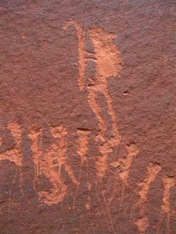 Procession Panel  Cedar Mesa  Hiking