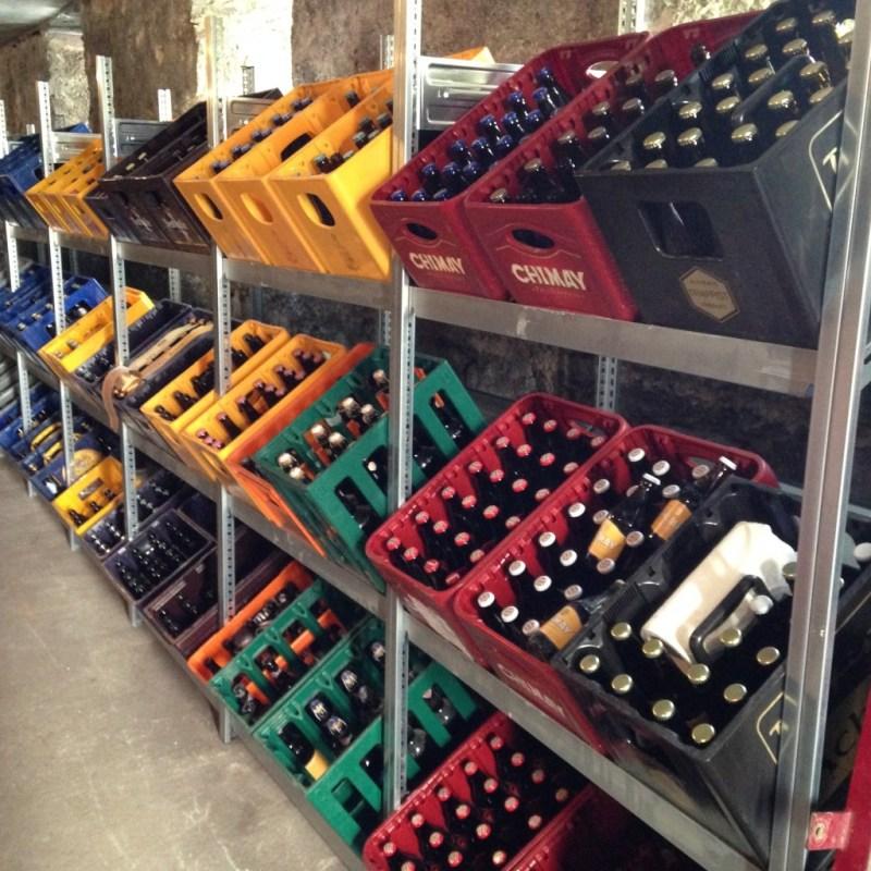 Beer Cellar in the Auberge