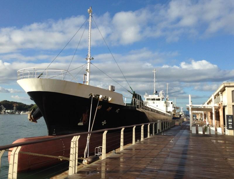 Dawn on the Docks