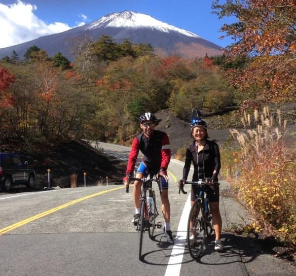 Mount Fuji from Azami Line