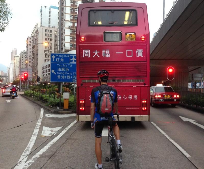 Mark in Mong Kok