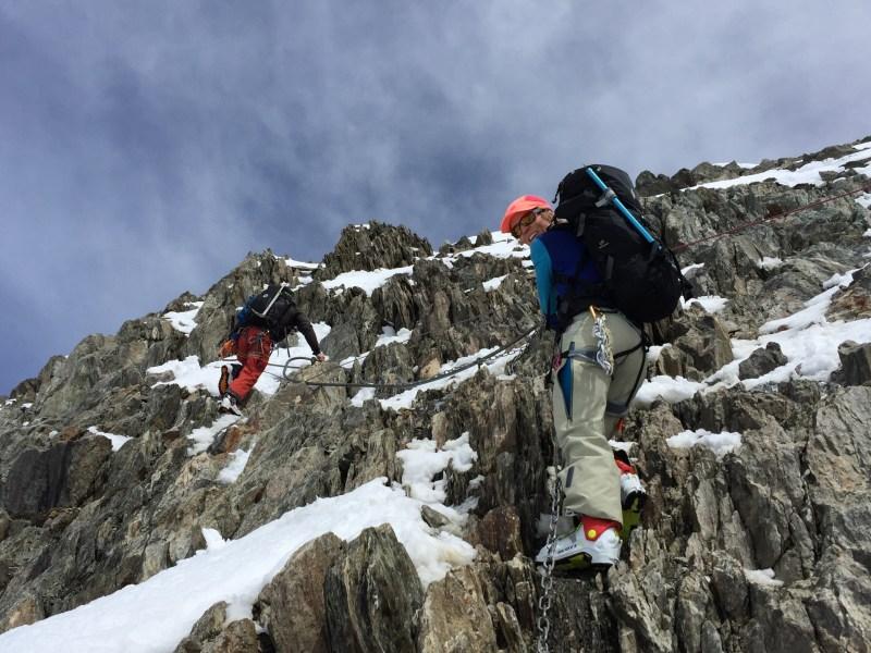 Climb to Hut (2)