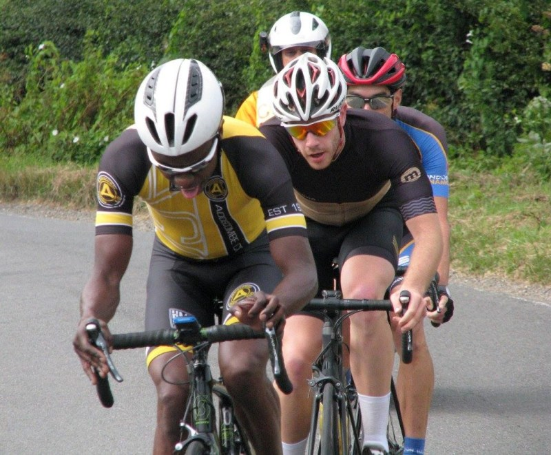 Surrey League Road Race (in the break)