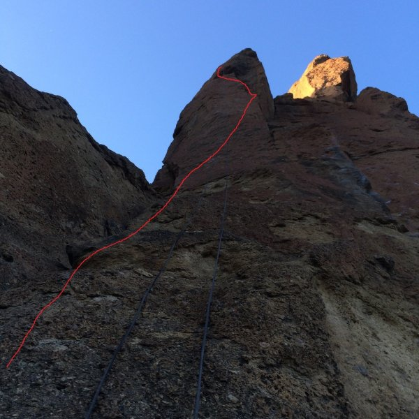 Headless Horseman Smith Rock Climbing
