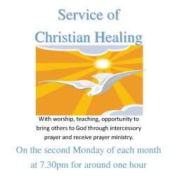 Healing Service notice sq