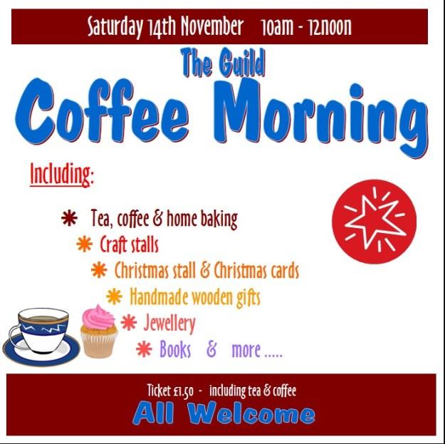 Guild Coffee Morning Poster Nov 15 square
