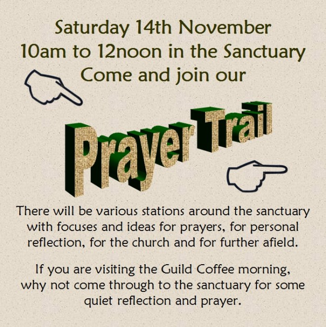 Prayer Trail 14 Nov 2015