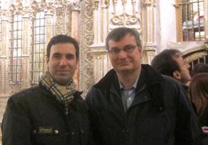 Drs. Bernáldez y José Mª Mora.Catedral Toledo.