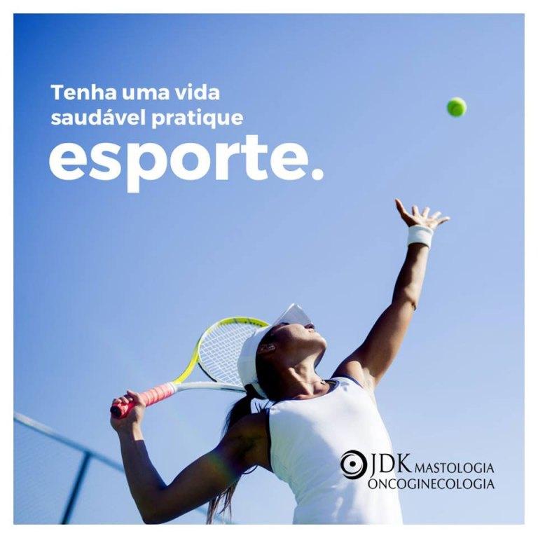 Tenha uma vida saudável pratique esporte