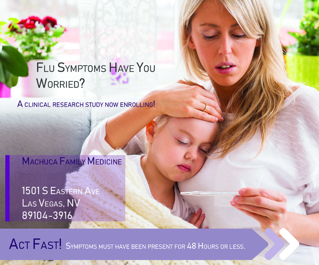 Pediatric Flu - Las Vegas NV (Clinical Trial # 40728)
