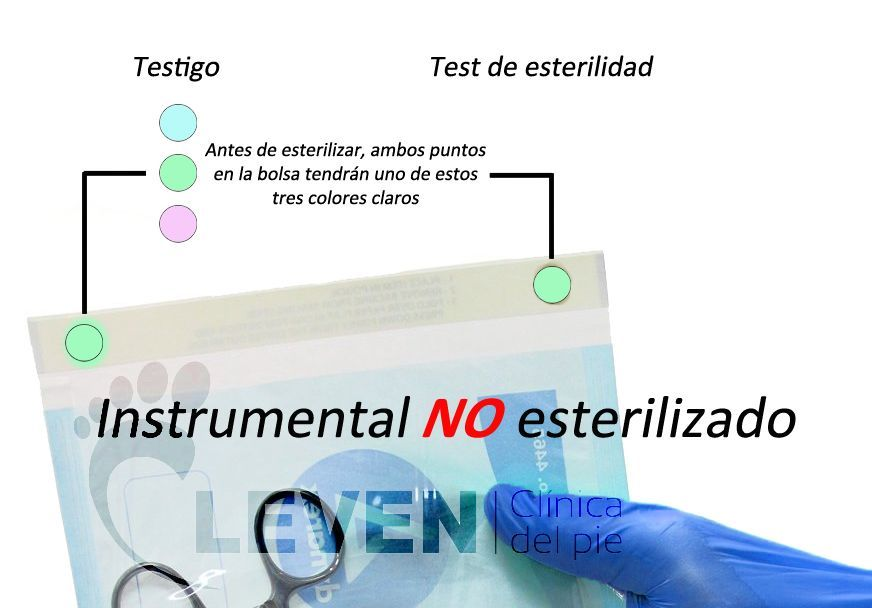 Before-esterilización
