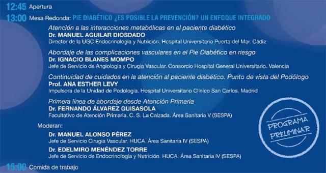 expertos en prevención y tratamiento de los trastornos derivados de la Diabetes-HUCA