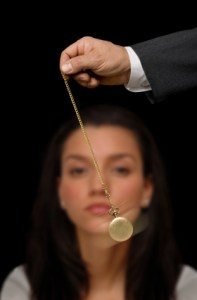 swinging watch is one of many misconceptions of hypnosis